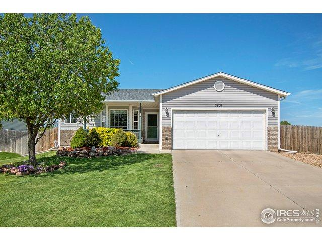 3401 Sheltered Harbor Dr, Evans, CO 80620 (#881872) :: The Griffith Home Team