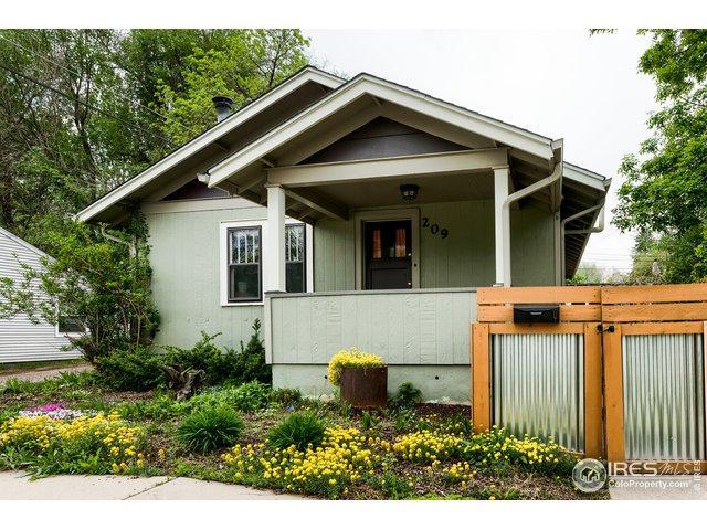 209 Locust St, Fort Collins, CO 80524 (MLS #881996) :: Keller Williams Realty