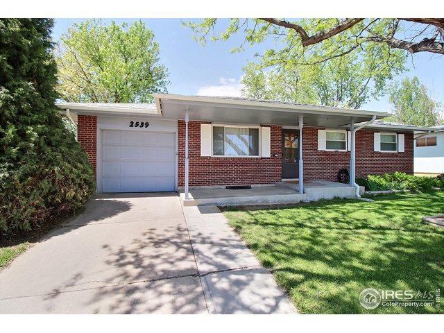 2539 21st Ave, Greeley, CO 80631 (#882090) :: The Peak Properties Group