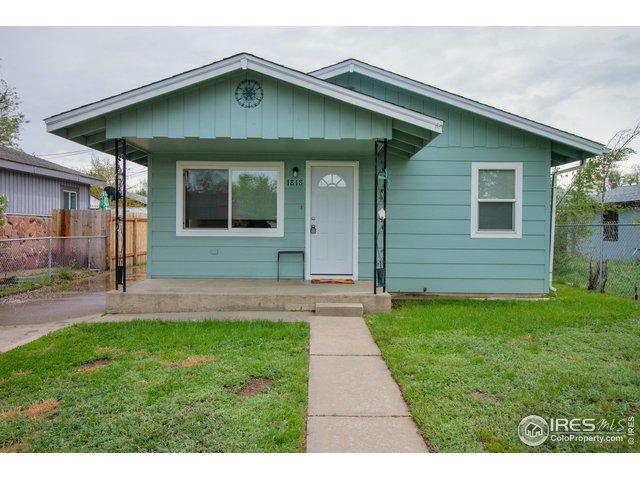 1818 6th St, Greeley, CO 80631 (#882125) :: The Peak Properties Group