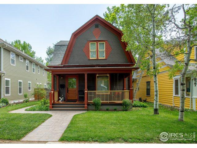 825 W Mountain Ave, Fort Collins, CO 80521 (MLS #882213) :: 8z Real Estate