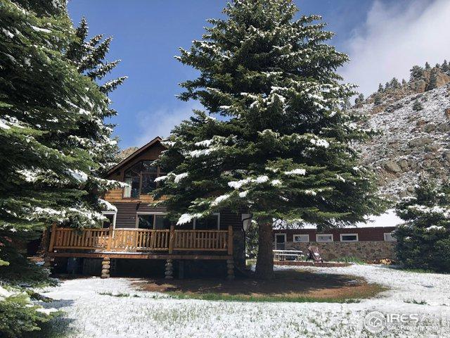 110 Meadow Ln, Bellvue, CO 80512 (MLS #882238) :: 8z Real Estate