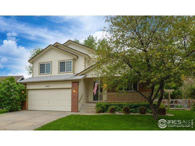 4023 Caddoa Dr, Loveland, CO 80538 (#882440) :: The Griffith Home Team
