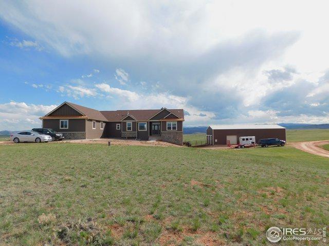 624 Ten Mile Cyn, Livermore, CO 80536 (MLS #882545) :: Hub Real Estate