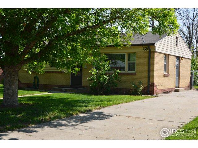 1028 30th Ave, Greeley, CO 80634 (MLS #882987) :: 8z Real Estate