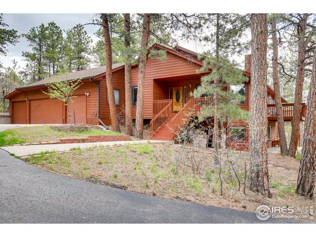 767 Tenderfoot Dr, Larkspur, CO 80118 (MLS #883363) :: 8z Real Estate