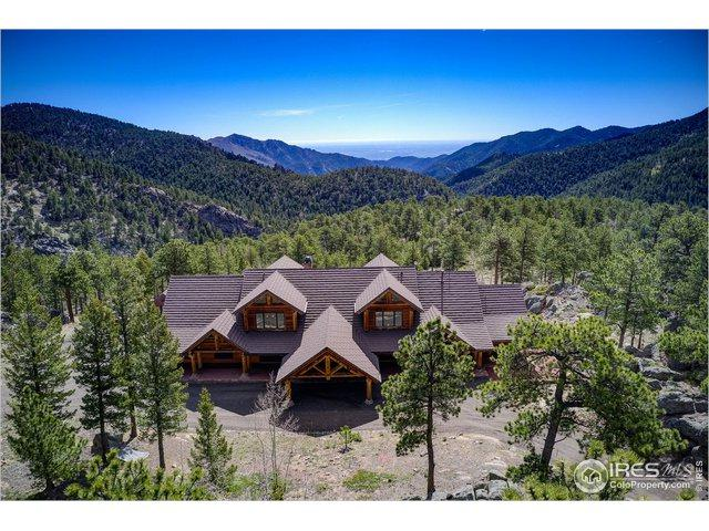 1236 Ridge Rd, Ward, CO 80481 (MLS #883541) :: The Bernardi Group