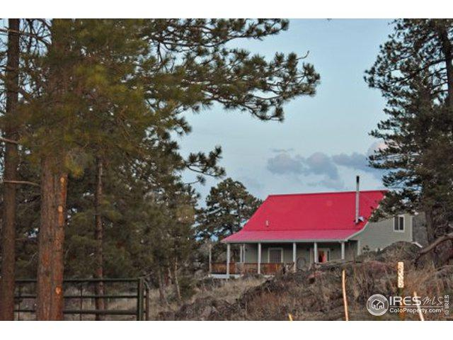 865 Spencer Mountain Rd, Bellvue, CO 80512 (MLS #883608) :: 8z Real Estate