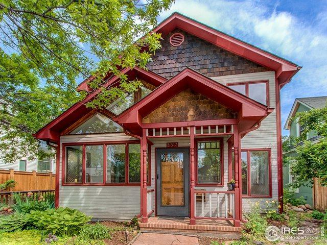 2313 Pine St, Boulder, CO 80302 (#883622) :: milehimodern