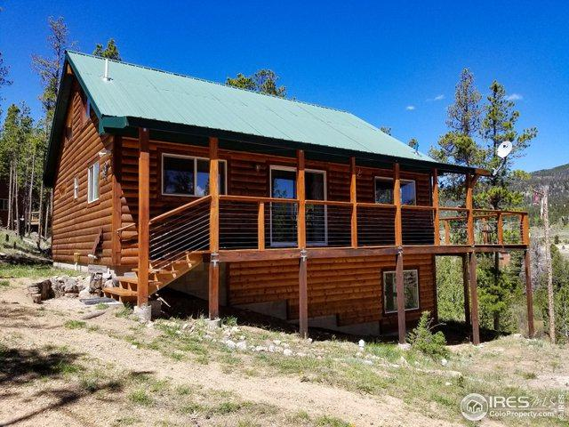 496 Blackfoot Rd, Red Feather Lakes, CO 80545 (MLS #884314) :: 8z Real Estate