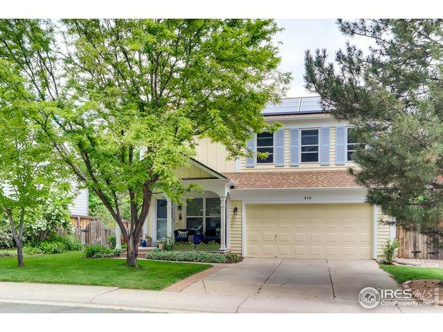 418 Fillmore Ct, Louisville, CO 80027 (MLS #884358) :: 8z Real Estate