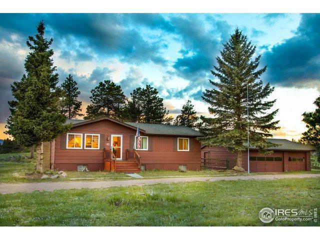 85 Mount Massive Dr, Livermore, CO 80536 (MLS #884777) :: Kittle Real Estate