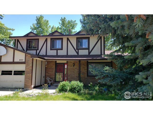 883 Elliott St, Longmont, CO 80504 (MLS #884837) :: 8z Real Estate