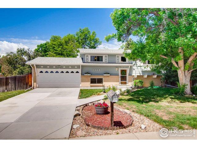 1203 Cottonwood St, Broomfield, CO 80020 (MLS #884909) :: The Bernardi Group at Coldwell Banker