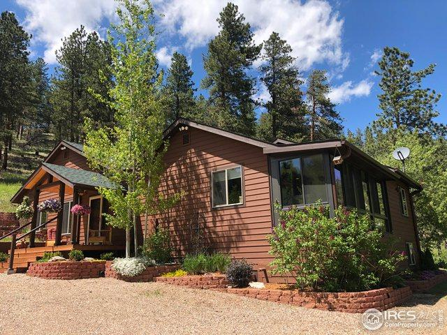 5860 Stove Prairie Rd, Bellvue, CO 80512 (MLS #885126) :: Kittle Real Estate
