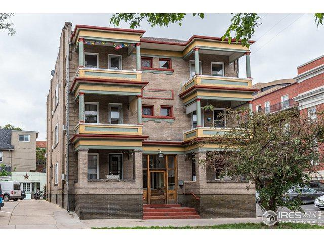 520 E 14th Ave #1, Denver, CO 80203 (MLS #885427) :: 8z Real Estate