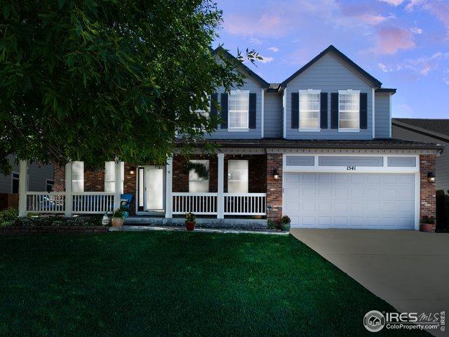 1541 Goshawk Dr, Longmont, CO 80504 (MLS #885787) :: 8z Real Estate