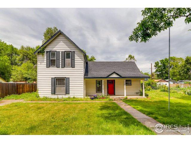 1201 E 1st St, Loveland, CO 80537 (MLS #886217) :: J2 Real Estate Group at Remax Alliance