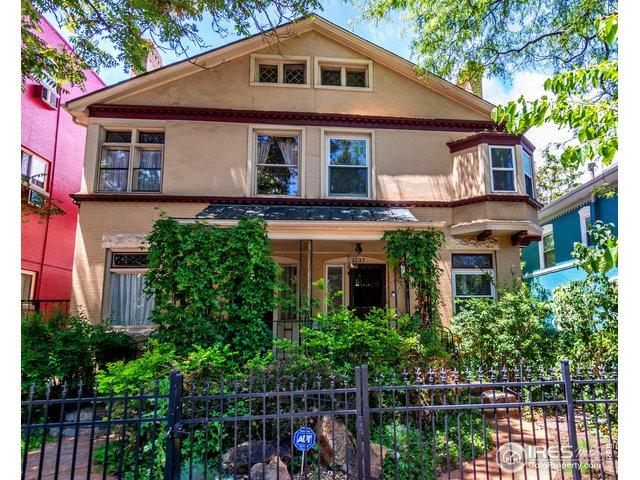 1237 N Pearl St, Denver, CO 80203 (MLS #886245) :: Hub Real Estate