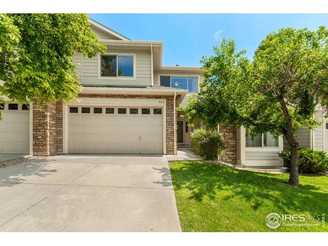 903 Hover Ridge Cir #2, Longmont, CO 80501 (MLS #887317) :: J2 Real Estate Group at Remax Alliance