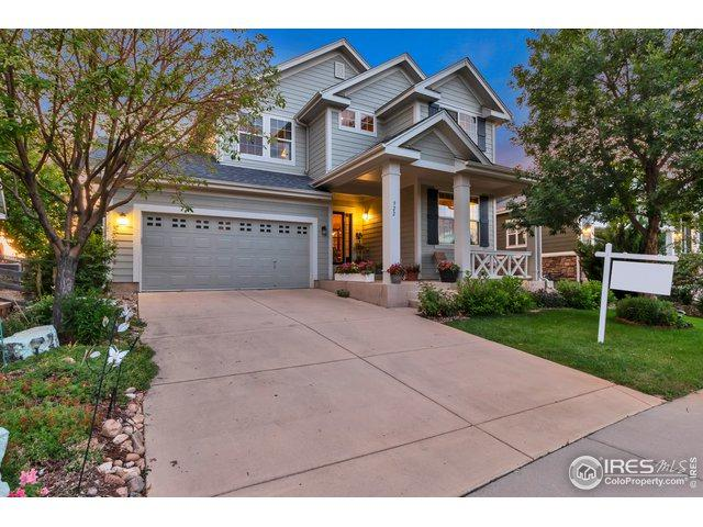 922 Koss St, Erie, CO 80516 (#888083) :: The Griffith Home Team
