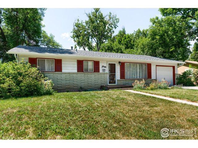 1049 Hillcrest Dr, Fort Collins, CO 80521 (MLS #888189) :: 8z Real Estate