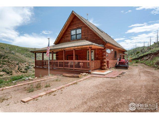 95 Grays Peak Ct, Livermore, CO 80536 (MLS #888258) :: Kittle Real Estate