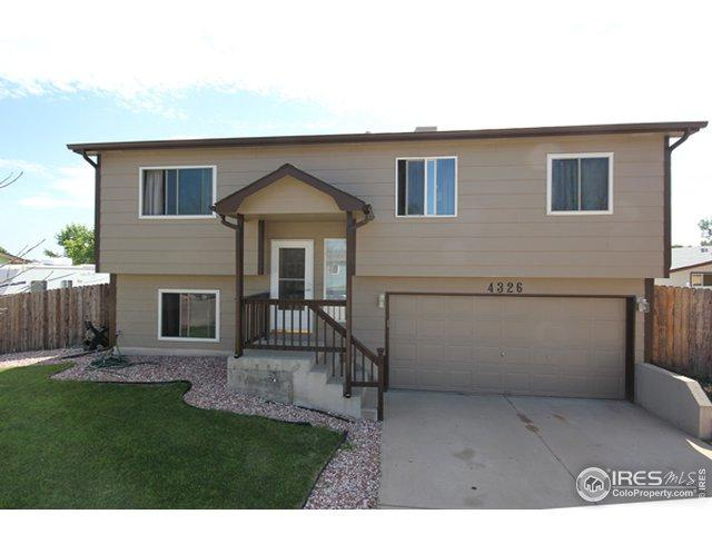 4326 Lake Mead Dr, Greeley, CO 80634 (MLS #888460) :: J2 Real Estate Group at Remax Alliance