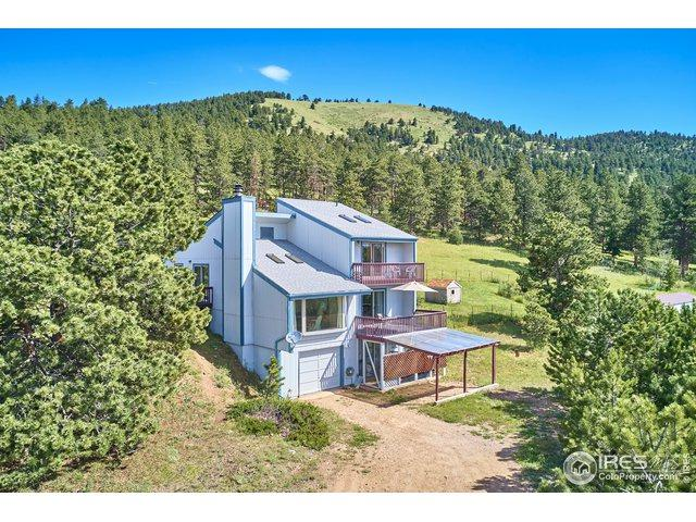 146 Coyote Ct, Boulder, CO 80302 (#888642) :: The Peak Properties Group