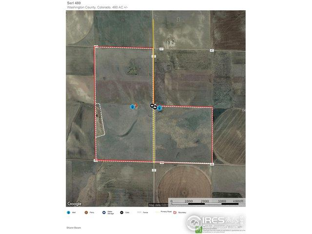 County Rd Zz And County Rd.46, Otis, CO 80743 (MLS #889009) :: Hub Real Estate
