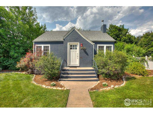 800 W Magnolia St, Fort Collins, CO 80521 (MLS #890576) :: Downtown Real Estate Partners