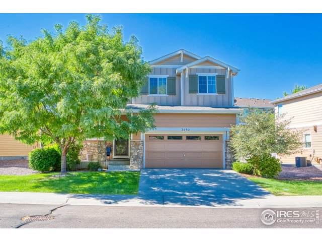 3592 E 141st Pl, Thornton, CO 80602 (#893941) :: The Griffith Home Team