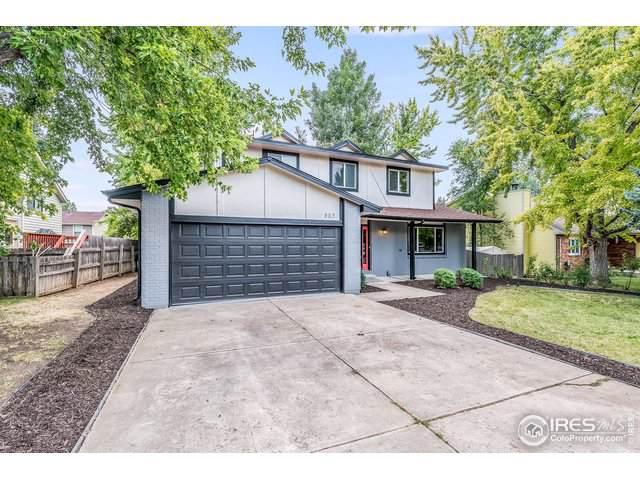 883 Elliott St, Longmont, CO 80504 (MLS #894189) :: Colorado Home Finder Realty