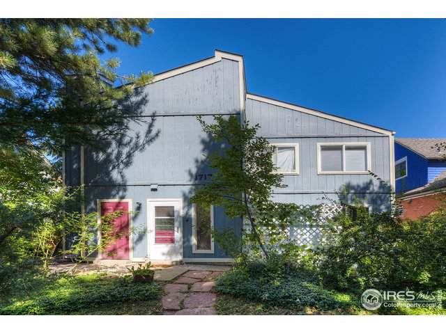 1717 Spruce St #1, Boulder, CO 80302 (MLS #894336) :: Jenn Porter Group