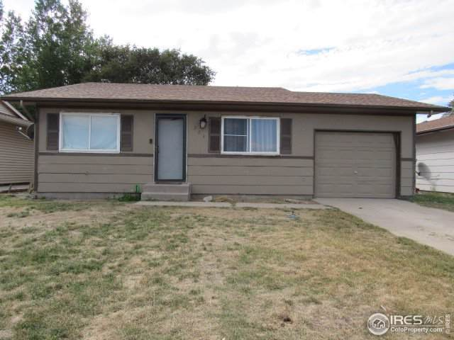 223 Chestnut St, Fort Morgan, CO 80701 (MLS #894354) :: Kittle Real Estate