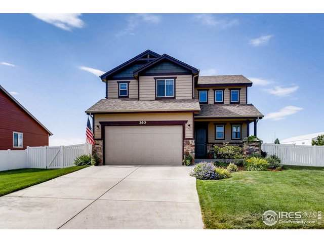 360 Bluegrass St, Eaton, CO 80615 (#894580) :: The Peak Properties Group