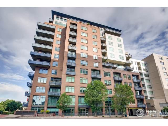 1401 Wewatta St #602, Denver, CO 80202 (MLS #894610) :: Colorado Home Finder Realty