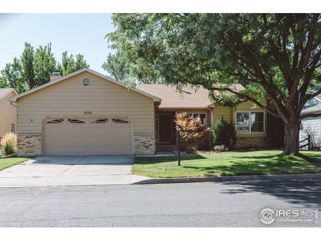 930 Scarborough Dr, Loveland, CO 80538 (MLS #894799) :: Keller Williams Realty