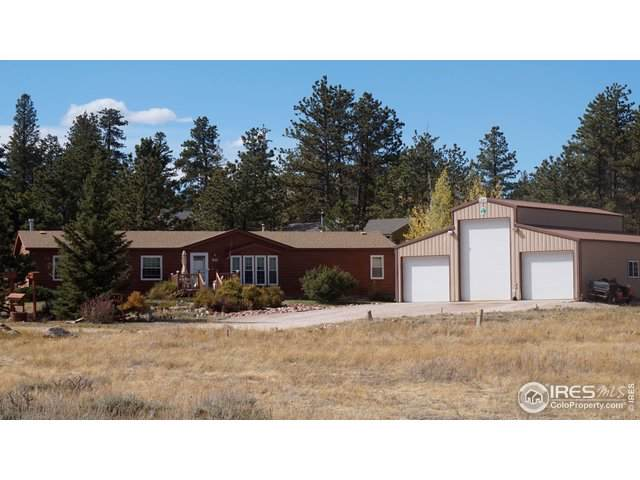 37 Pocahontas Hwy, Red Feather Lakes, CO 80545 (MLS #895507) :: Kittle Real Estate