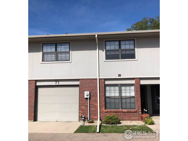 3405 W 16th St #71, Greeley, CO 80634 (MLS #895541) :: 8z Real Estate