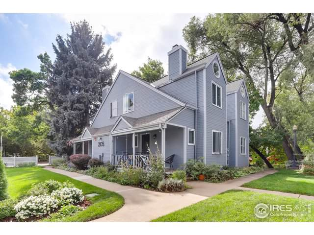 2105 Walnut St A, Boulder, CO 80302 (MLS #895908) :: Colorado Real Estate : The Space Agency