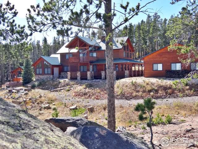 961 Pearl Creek Rd, Red Feather Lakes, CO 80545 (MLS #896616) :: Kittle Real Estate