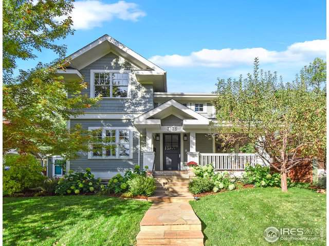 3135 5th St, Boulder, CO 80304 (MLS #896625) :: The Galvis Group