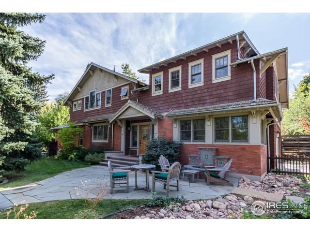 1590 Cascade Ave, Boulder, CO 80302 (MLS #896640) :: The Galvis Group