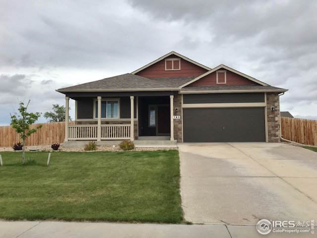 705 Carroll Ln, Pierce, CO 80650 (MLS #896799) :: Kittle Real Estate