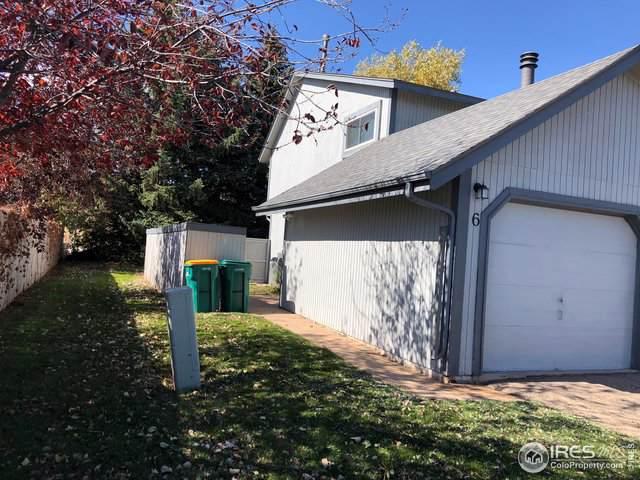 3025 W Stuart St #6, Fort Collins, CO 80526 (MLS #897270) :: Jenn Porter Group