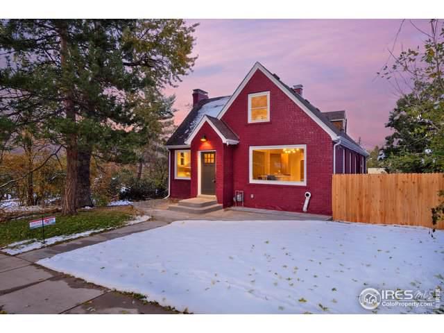 922 12th St, Boulder, CO 80302 (#897699) :: James Crocker Team