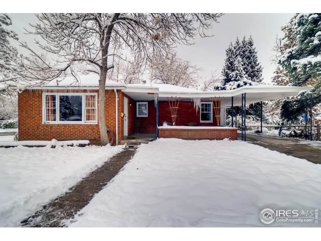 905 Grandview Ave, Boulder, CO 80302 (#897857) :: HomePopper