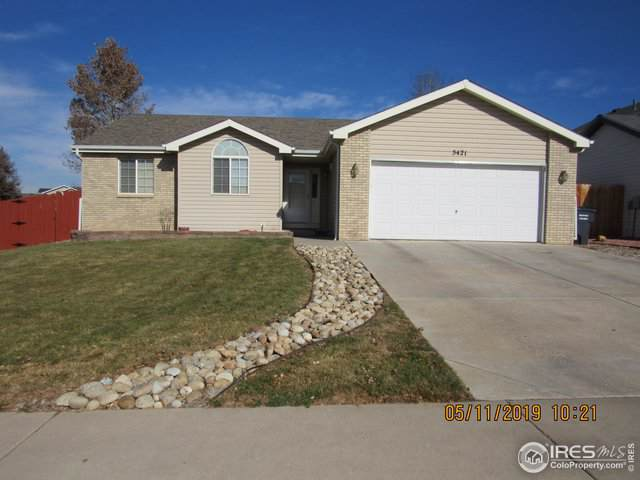 5421 W 16th St Ln, Greeley, CO 80634 (MLS #898512) :: Windermere Real Estate
