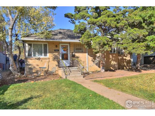 841 20th St, Boulder, CO 80302 (#898521) :: James Crocker Team